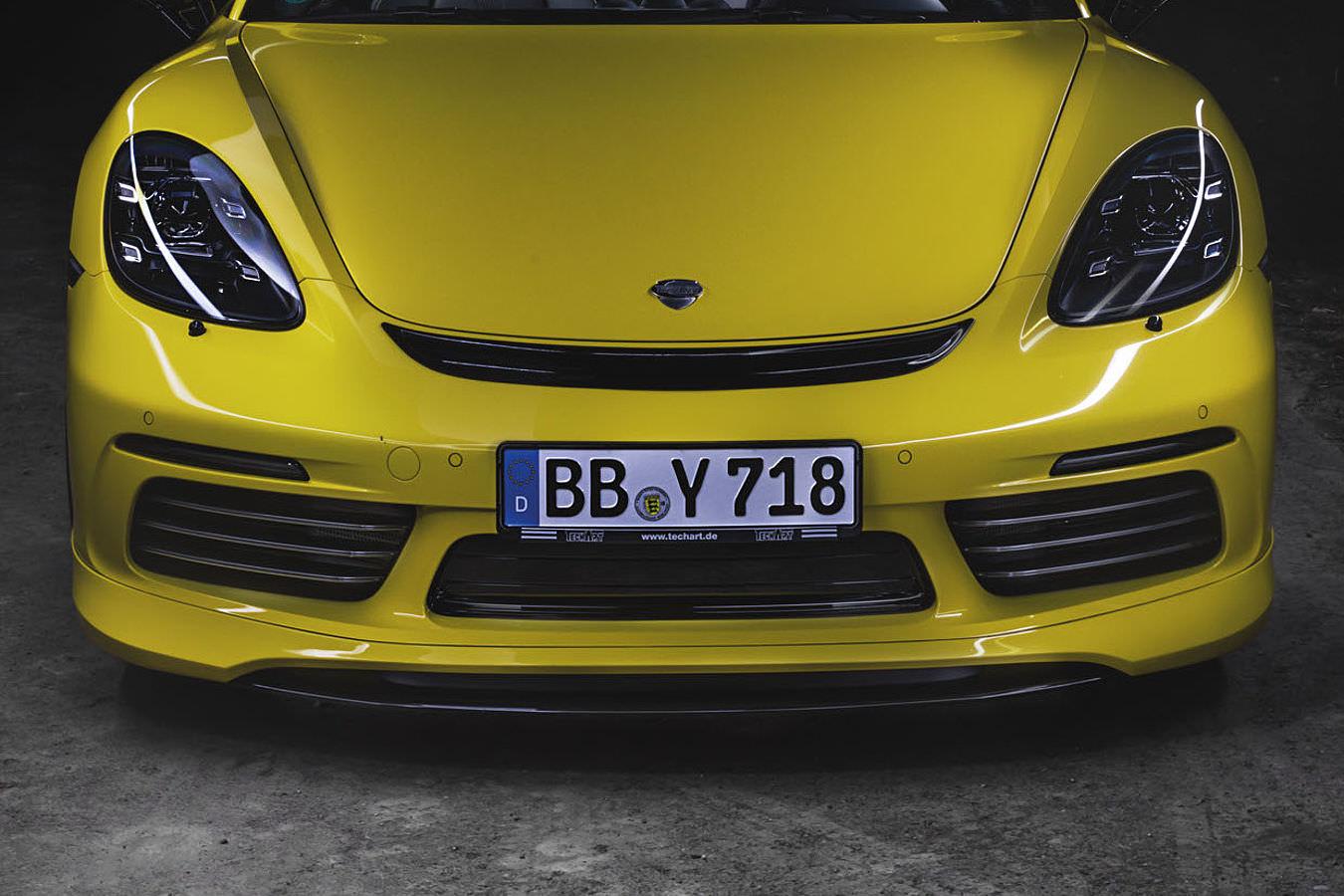 Techart Porsche 718 Cayman Boxster Pitlane Tuning Shop